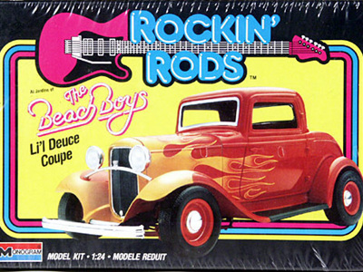Monogram 1/24 Beach Boys Li'l Deuce Coupe
