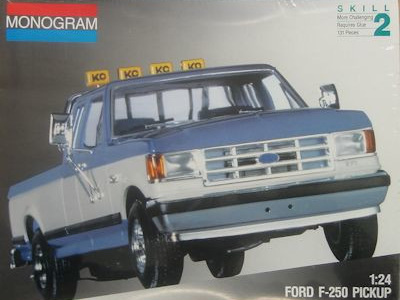 Monogram 1/24 Ford F-250 Pickup