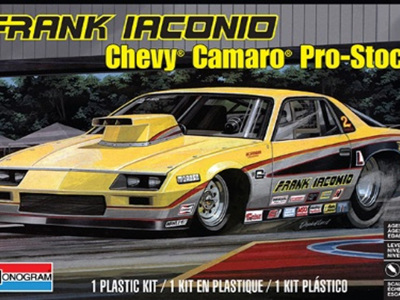 Monogram 1/24 Iaconio Camaro Pro Stock