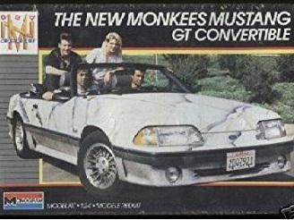 Monogram 1/24 Monkees Mustang GT Convertible