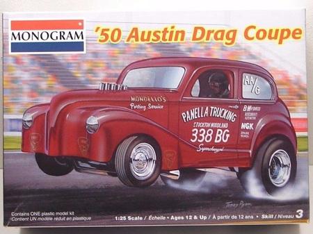 Monogram 1/25 50 Austin Drag Coupe