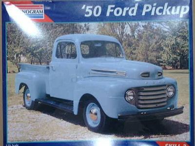 Monogram 1/25 50 Ford Pickup