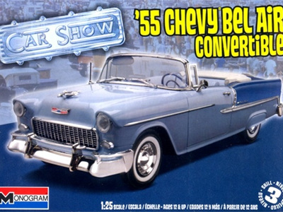 Monogram 1/25 55 Chevy Bel Air Convertible