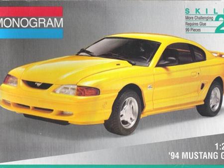 Monogram 1/25 '94 Mustang GT