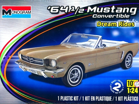 Monogram 1/24 1964 1/2 Mustang Convertible