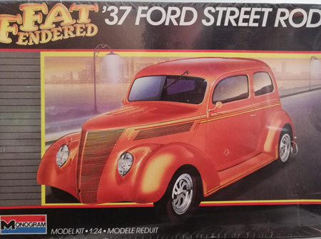 Monogram 1/24 37 Ford Street Rod (MON2757)