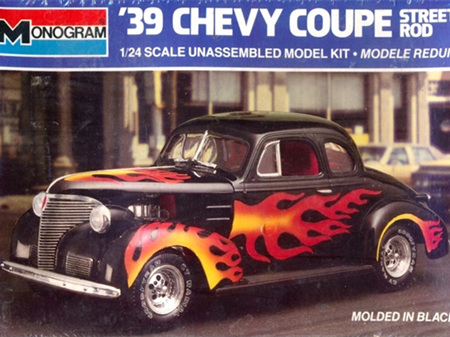 Monogram 1/24 39 Chevy Coupe