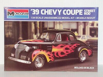 Monogram 1/24 39 Chevy Coupe Street Rod