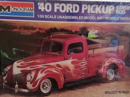 Monogram 1/24 40 Ford Pickup Street Rod (MON2720)