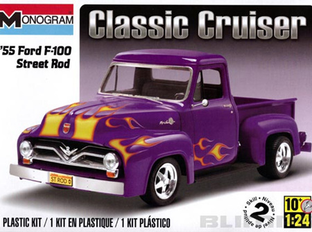 Monogram 1/24 55 Ford F-100 Street Rod (RMX0880)