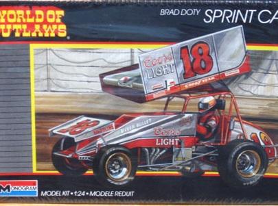 Monogram 1/24 Brad Doty Coors Light Sprint Car