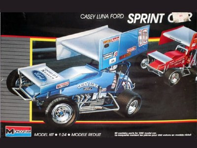 Monogram 1/24 Casey Luna Ford Sprint Car