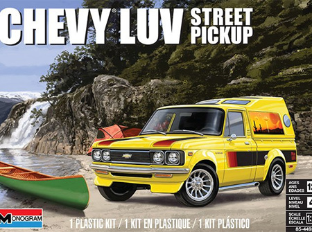 Monogram 1/24 Chevy LUV Street Pickup (RMX4493)
