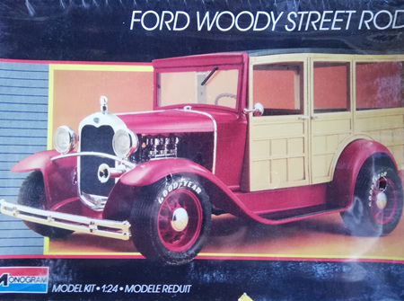 Monogram 1/24 Ford Woody Street Rod (MON2749)