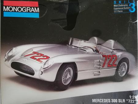 Monogram 1/24 Mercedes 300 SLR '722'