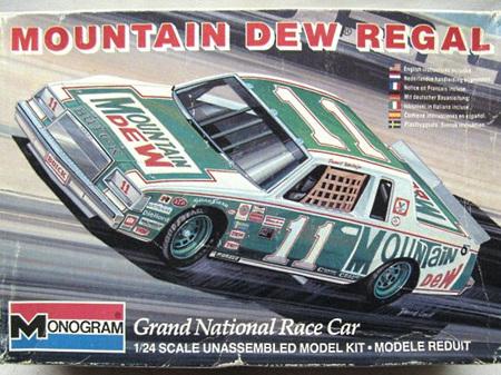 Monogram 1/24 Mountain Dew Buick Regal