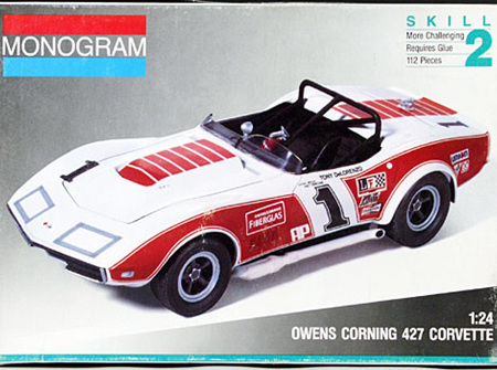 Monogram 1/24 Owens Corning 427 Corvette