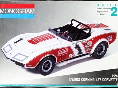 Monogram 1/24 Owens Corning 427 Corvette