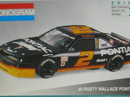 Monogram 1/24 Rusty Wallace Pontiac