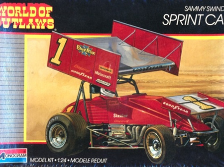 Monogram 1/24 Sammy Swindell Blue Max Sprint Car