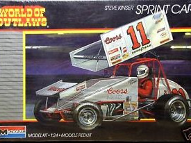 Monogram 1/24 Steve Kinser Coors Light Sprint Car