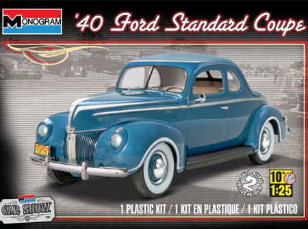 Monogram 1/25 40 Ford Standard Coupe (RMX4371)