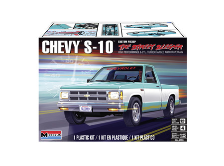 Monogram 1/25 Chevy S-10 Custom Pickup (RMX4503)