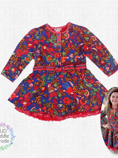 Monsoon dress multi  colours