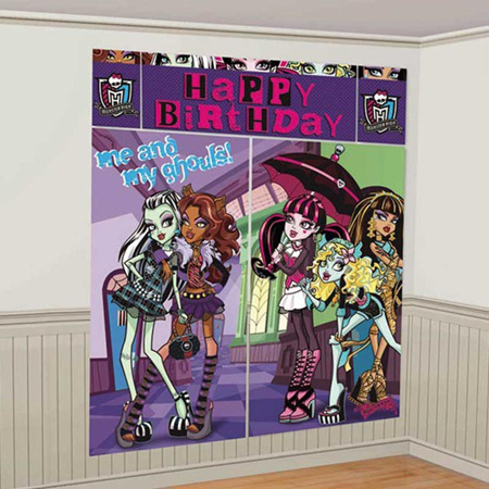 Monster High scene setter