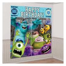 Monsters University Wall Decorating Kit