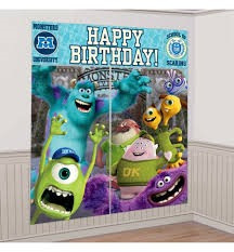 Monsters University Wall Decorating Kit