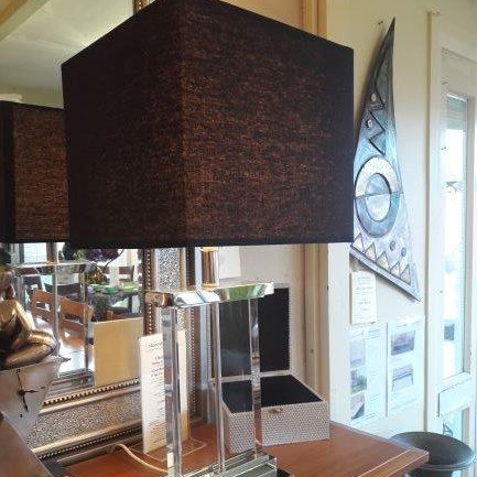 Monterey Crystal Table Lamp - $613