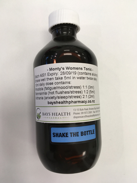 Monty's Women's Herbal Tonic 200ml
