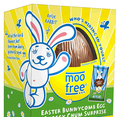 Moo Free Bunnycomb Egg