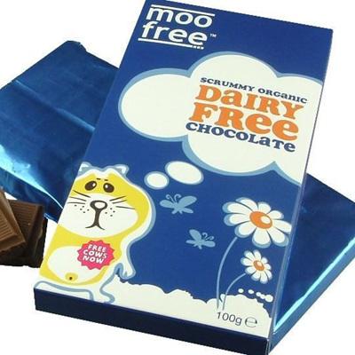 Moo Free Chocolate Bars 100g