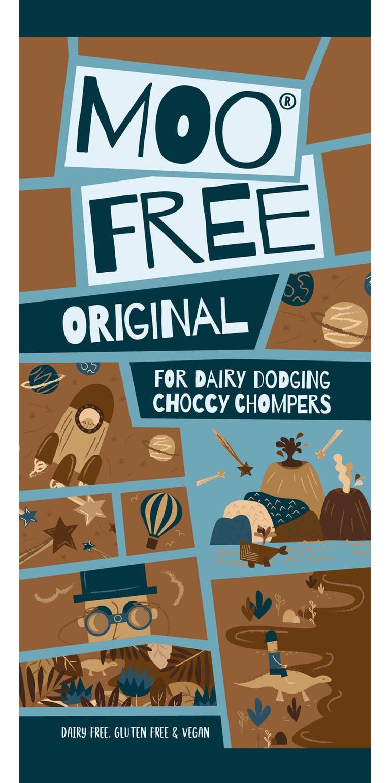 Moo Free Original Cocoa Bar 80g