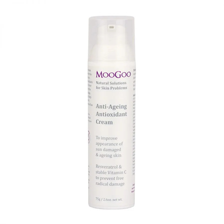 MOOGOO ANTI AGEING FACE CREAM 75G