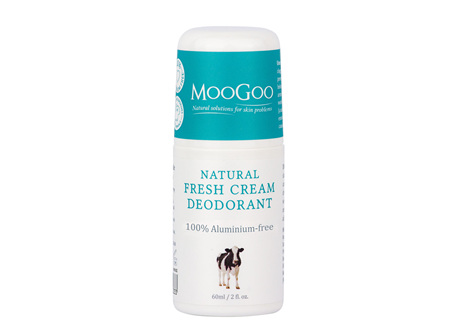 MOOGOO Deodorant Fresh Cream 60ml