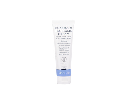 MooGoo Eczema & Psoriasis Cream Marshmallow 120g