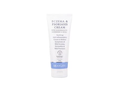 MooGoo Eczema & Psoriasis Cream Marshmallow 200g