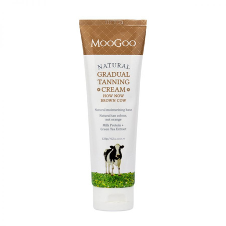 MOOGOO HOW NOW TANNING CREAM 120G