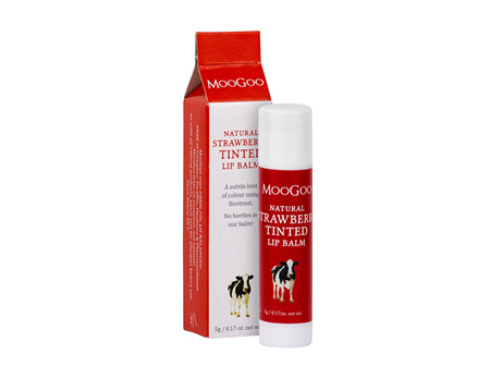 MOOGOO Lip Balm Strawberry Tint 5g