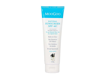 MOOGOO Sunscreen Tinted SPF40 120g