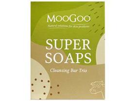 MOOGOO SUPER SOAPS CLEANSING BAR TRIO