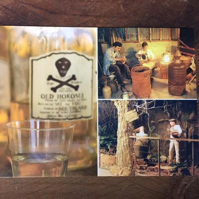 Moonshine Museum postcard