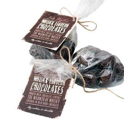Moonshine Whisky Liqueur Chocolates