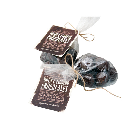 Moonshine Whisky Liqueur Chocolates