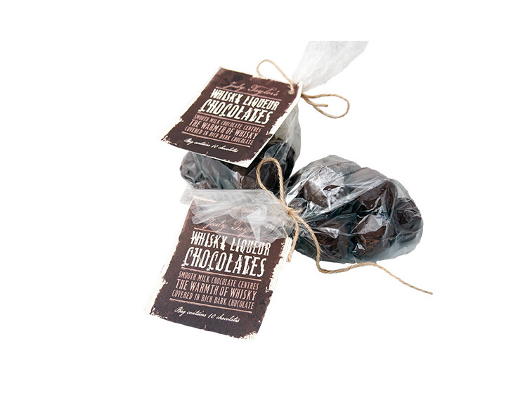 Moonshine Whisky Liqueur Chocolates by Jude Taylor