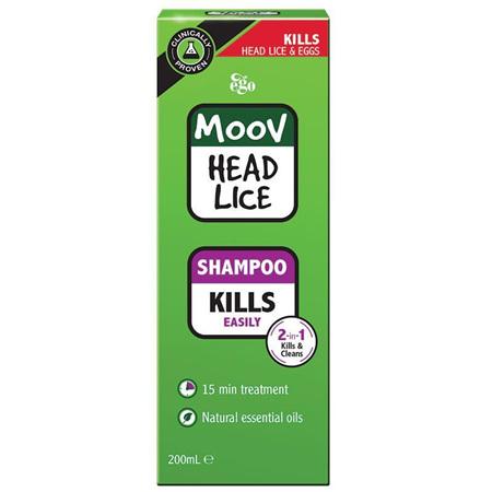MOOV Head Lice Shampoo 200mL