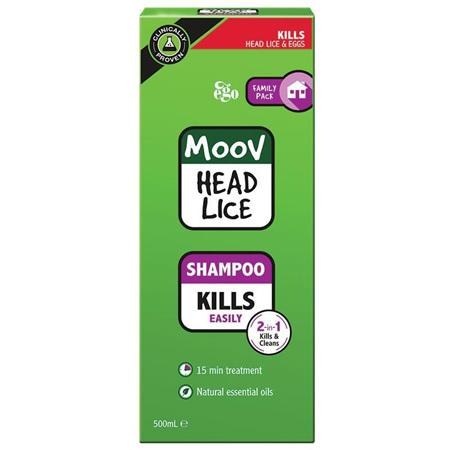 MOOV Head Lice Shampoo 500mL